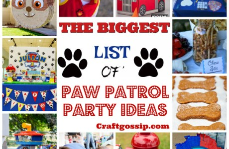 The Biggest List Of Paw Patrol Party Ideas