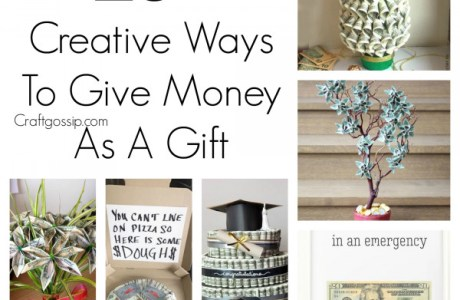 20+ Creative Ways to Gift Money