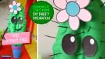 DIY Party Cactus Centerpiece