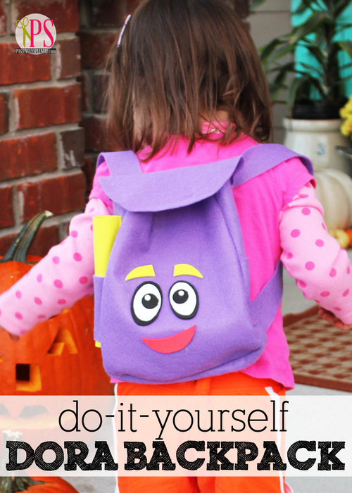 DIY Dora The Explorers Backpack