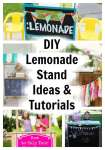 DIY Lemonade Stand Projects