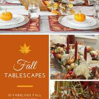 10 Fabulous Fall Tablescapes