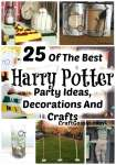 25 Of The Best Harry Potter Party Ideas, Decorations And Crafts