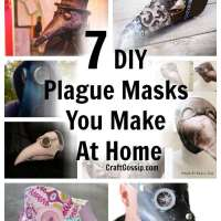 7 DIY Plague Masks You Make At Home For Halloween