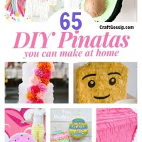 How To Make A Pinata - 65 Different designs