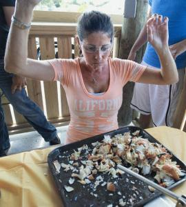 Marathon Stone Crab Claw Eating Contest