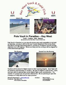 Pole Vault in Paradise presents: Pole Vaulting Champions @ Truman Waterfront Park | Key West | Florida | United States