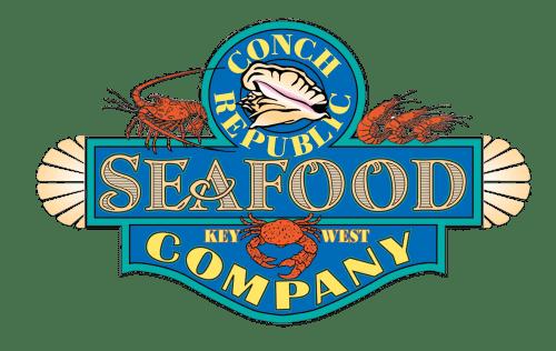 conch republic seafood company restaurant logo