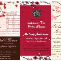 Bridal Shower Cherry Blossom Floral Invitations
