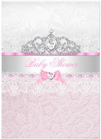 Y Cute Pink Baby Shower Invitations Party Ideas