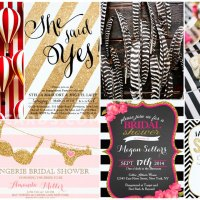 42 Stylish Striped Invitations •  Stripes Theme