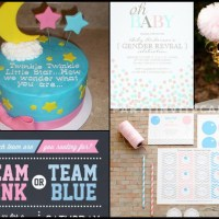 Baby Gender Reveal Party Invites & ideas