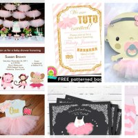 Baby Girl Ballerina Tutu | Invitations & Party Ideas