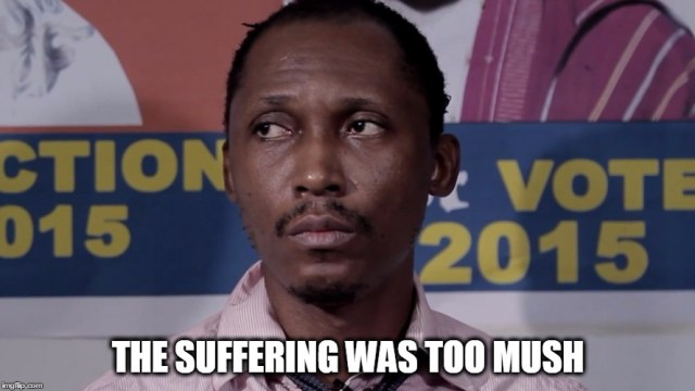 Image result for nigerians suffering meme