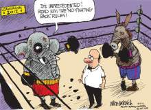 The Donkey Should Have His Gloves Off