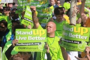 Black Friday Wal-Mart strikers
