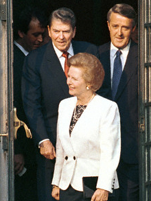 The Gruesome threesome; Reagan, thatcher and Mulroney