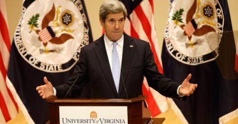 Diplomat in Chief John Kerry