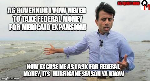 meme, bobby jindal, medicaid expansion