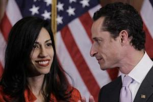 Anthony Weiner and his wife