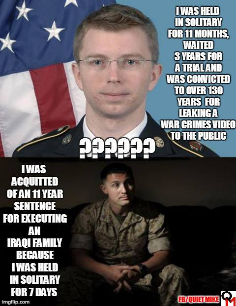 bradley manning and military justice, best memes of august 2013