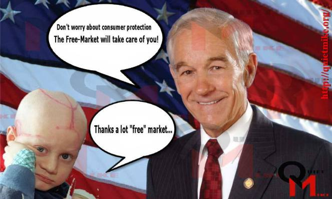 ron paul, Consumer Protection