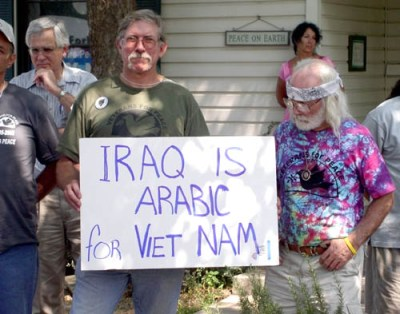 Iraq is arabic for vietnam