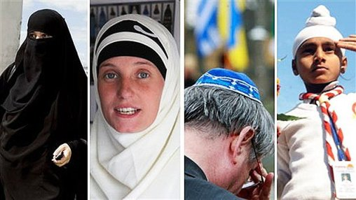 Quebec charter of values - religious hats