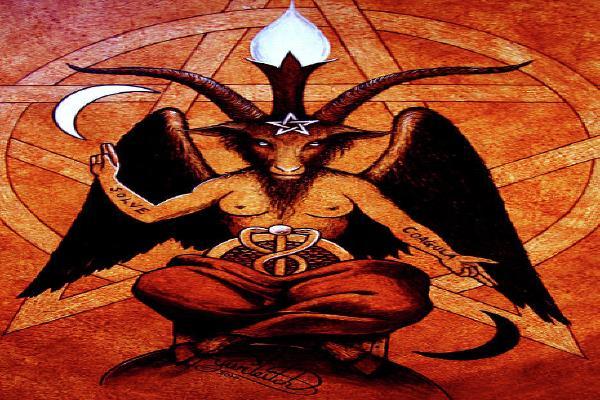 satanic monument