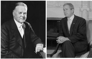 Hoover, bush, business principal