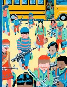 kids and guns at school