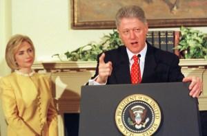 Monica Lewinsky, Bill & Hillary Clinton