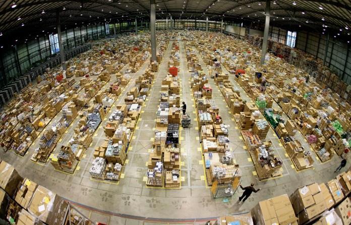 London Amazon Warehouse