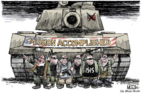 ISIS succeeds in luring America back to Iraq