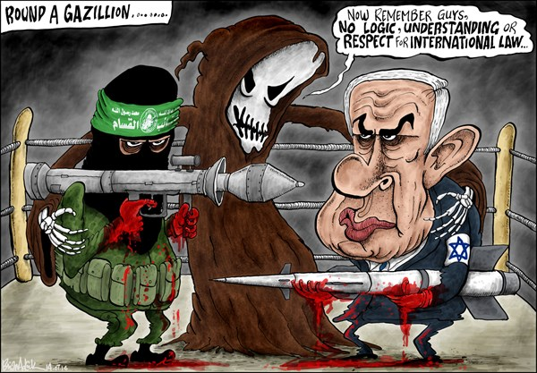 It isn't new, but it's still news, best editorial cartoons 2014