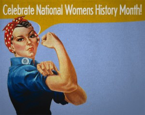 Women's History Month, Men Dominate the Headlines