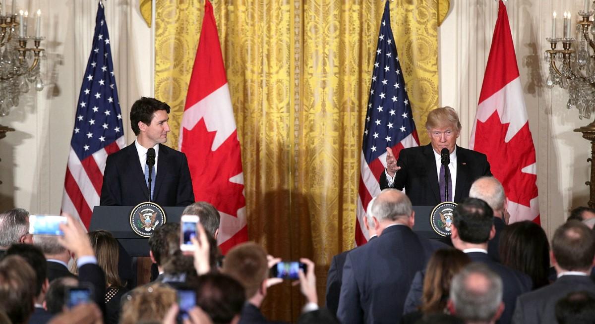 labor standards, canada, us, Trudeau, Trump
