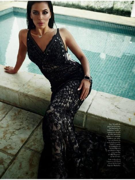 Eva Longoria for Elle Spain December 2013