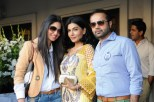 Saira Faisal, Iffat Rahim and Faraz Manan at Crescent Lawn Exclusive Preview