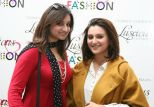 Sophiya Anjum Taha & Redah Misbah Qureshi at the Luscious Cosmetics Designer Nail Polishes launch
