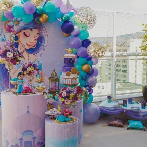 Princess Jasmine Inspired Arabian Nights Party