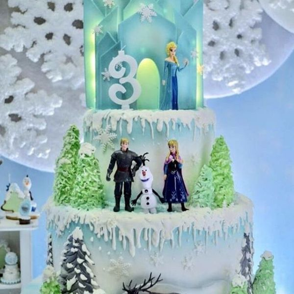 Arctic Winter ONEderland Birthday Party