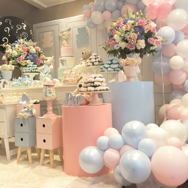 Pink or Blue Baby Shower Gender Reveal Party