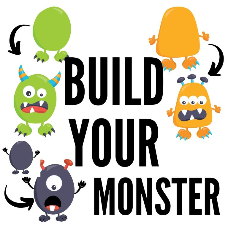 FREE PRINTABLE Build your Own Monster