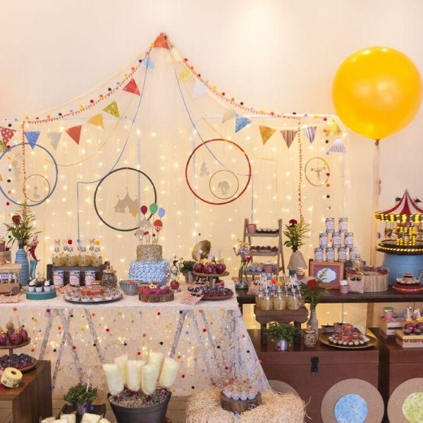 Incredible Circus birthday Party