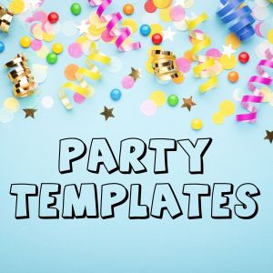 PARTY TEMPLATES