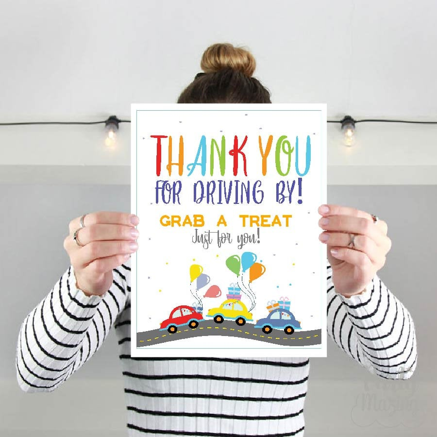 drive by birthday parade party ideas