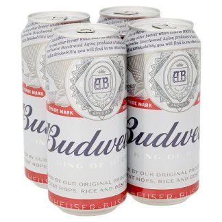 Budweiser 24x500ml case