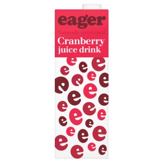 Eager Cranberry Juice 1L