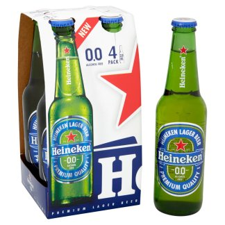 Heineken Alcohol Free 4x330ml